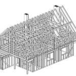 konstrukcja szkieletowa budynku
